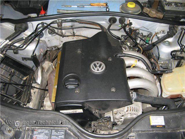 Снятие МКПП типа 01W на VW Passat B5+ замена сцепления