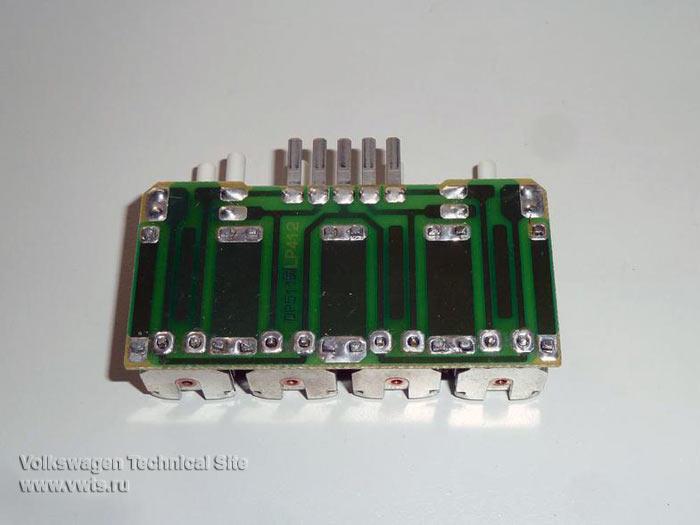 Ремонт блока клапанов Climatronic на Фольксваген Пассат Б3-Б4