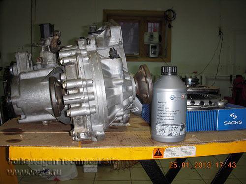 Переборка коробки передач типа 02А