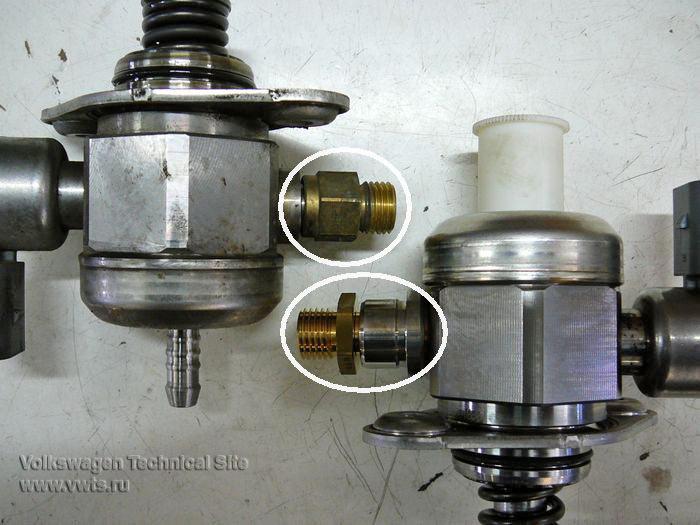 Ошибка Р2293 / 008851-регулятор давления топлива N276
