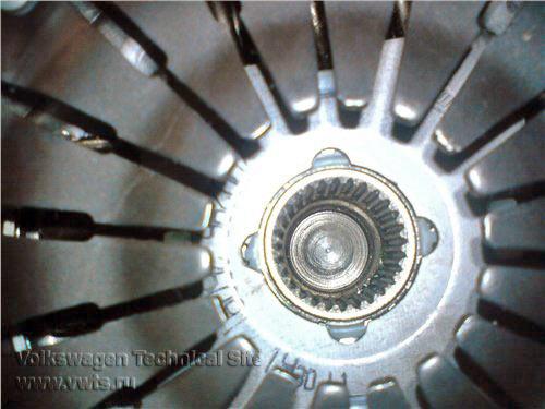 Замена сцепления на двигателе BSE