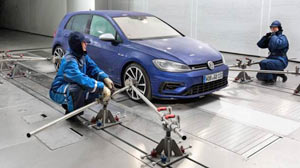 VW Wind Tunnel Efficiency Center